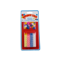 24 Pieces Small Birthday Spiral Candles