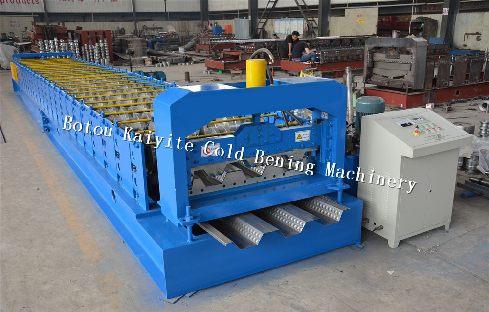 floor decking metal panel roll forming machine