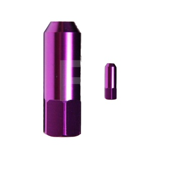 Custom purple lug nuts for car for sale