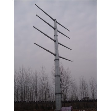 220kV Steel Electric Power Pole