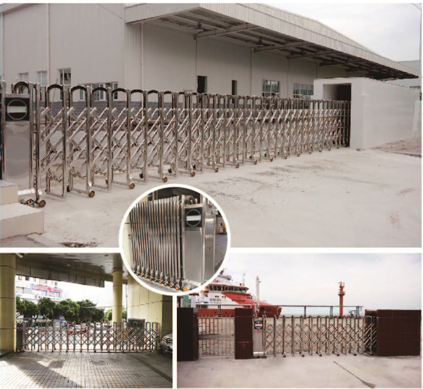 Electric Retractable Gate