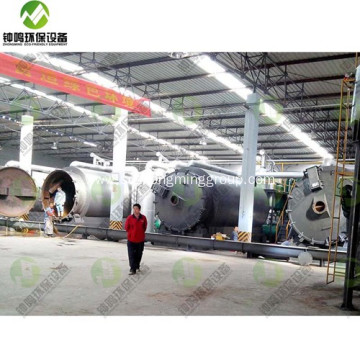 Plastic to Oil Converter Recycling Machine