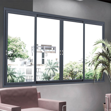 Lingyin Construction Materials Ltd china factory powder coating aluminium sliding windows