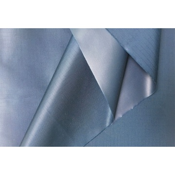 Polyester Nylon PU Coating Waterproof Fabric for Raincoat