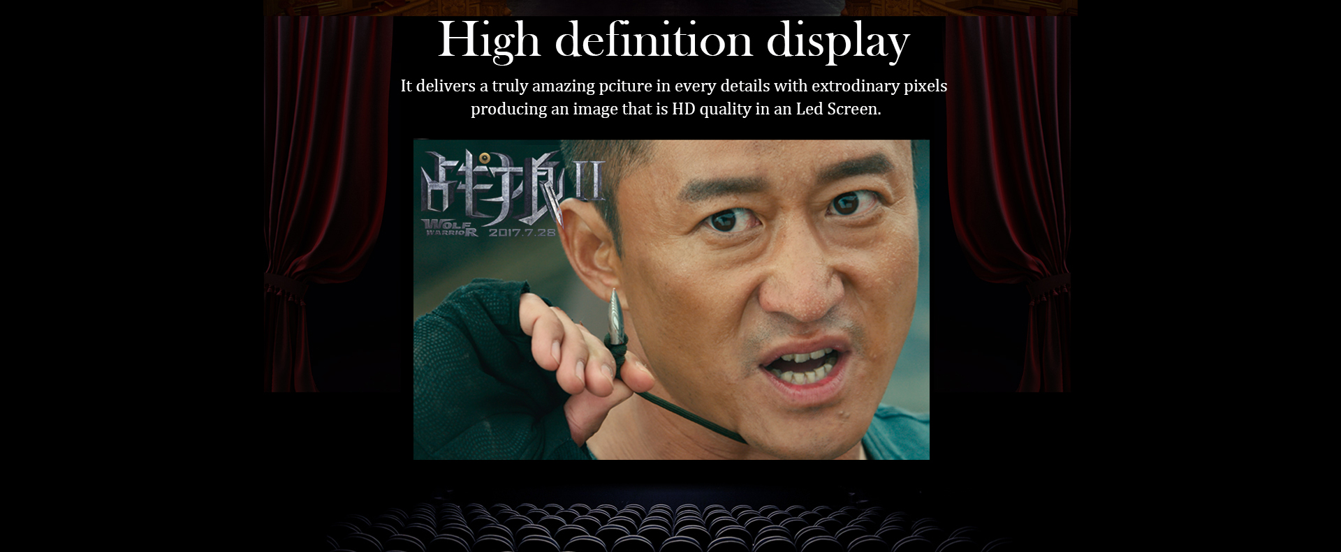 P1.923 Indoor High Definition led display screen
