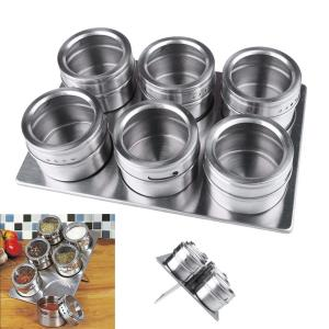 Stainless Steel Spice Canisters Cans