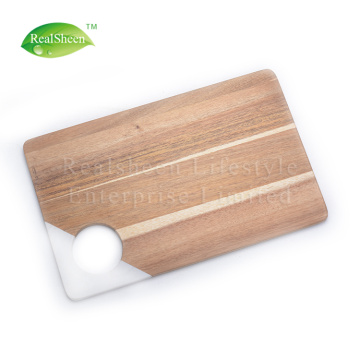 Preminum Marble And Acacia Wood Cutting Board