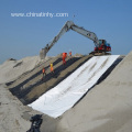 HDPE Textured Geomembrane for Landfill Slope Protection