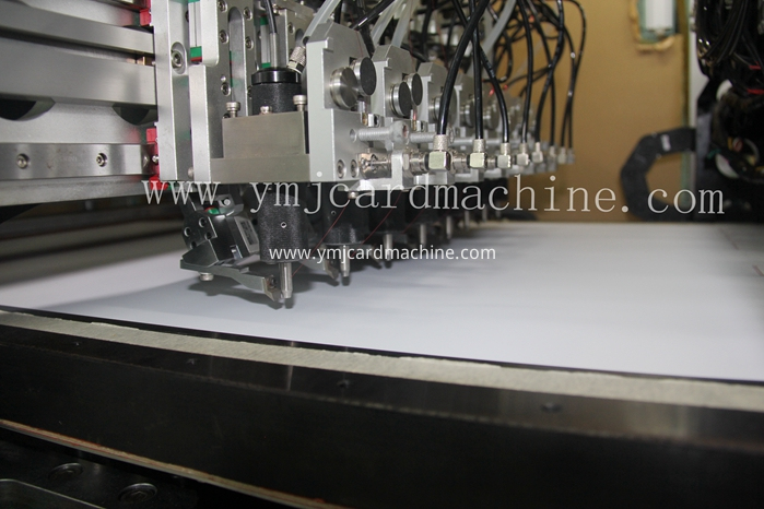 Hole Punching and Wire Embedding Equipment