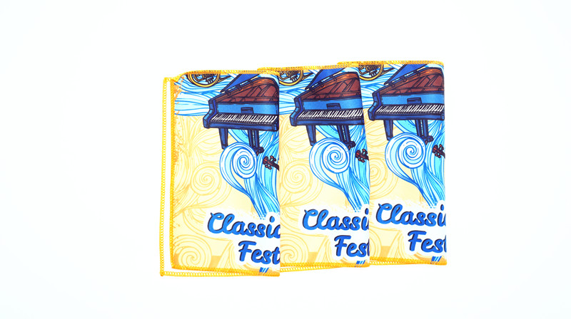 Colorful Eco Friendly Soft Cleaning Cloth For Instrument