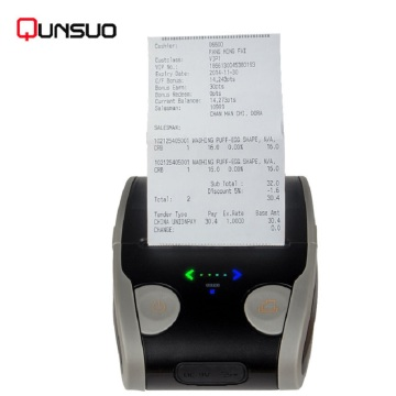 58mm Bluetooth Thermal Transfer Label Barcode Printer