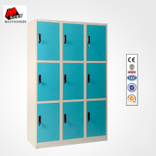 China Gold Supplier for School Lockers 9 Blue Doors Metal Lockers export to Belgium Wholesale