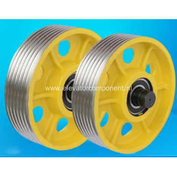 Elevator Car Top Pulley Casting Pulley