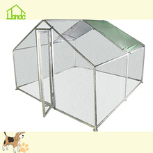Family Useing Folding Galvanized Chicken Coop With Cover