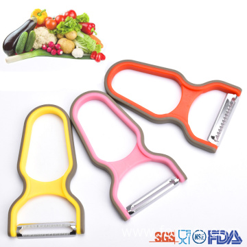 OEM/ODM for Offer Fruit Peeler,Potato Peeler,Apple Peeler From China Manufacturer kitchen plastic tomato peeler with stainless steel blade supply to Italy Suppliers