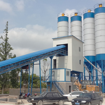 HZS60 best price concrete batching plant