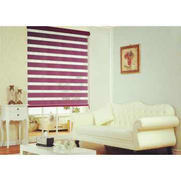 Zebra Roller Blind Shades Plain Dyed