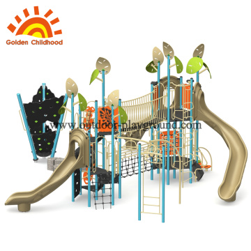 Climbing rope course kids Outdoor playground