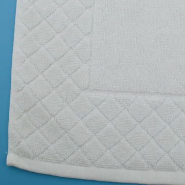 Large Bathroom Rugs Anti Slip White Bath Mat