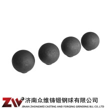 Hot rolling Forged grinding balls for cement 70mm