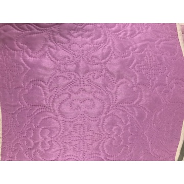 Pink Color Ultrasonic Microfiber Fabrics