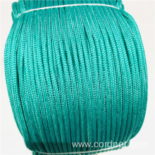 Green PP Multifilament Braided Rope