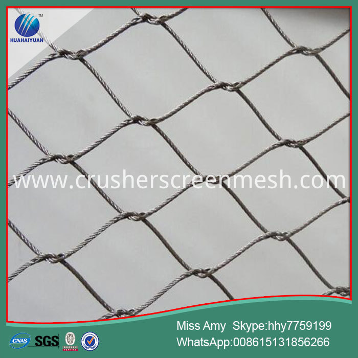 Wire Rope Netting Zoo Mesh
