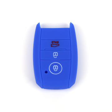Colorful Silicone car key cover for KIA