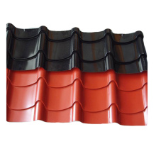 OEM manufacturer custom for Metal Glazed Steel Roof Tile Color steell glazed tile roofing sheet export to Spain Exporter