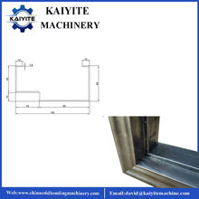 Safety Steel Windows Door Frame Roll Forming Machine