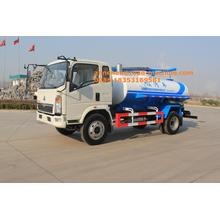 China for China Sewage Truck,Sewage Suction Truck,Vacuum Sewage Suction Truck Manufacturer 5-6CBM Sewage Suction Truck Sinotruk howo brand export to Gabon Factories
