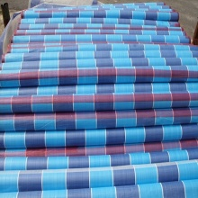 Wholesale Dealers of for Stripe Tarpaulin Striped PE Tarpaulin Storage Cover export to Spain Exporter