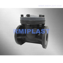 PVC Swing Check Valve Flange End