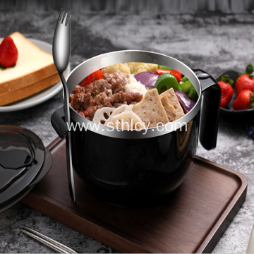 Large Capacity 304 Stainless Steel Instant Noodle Bowl