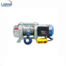 Electric winch motor machine wireless remote control