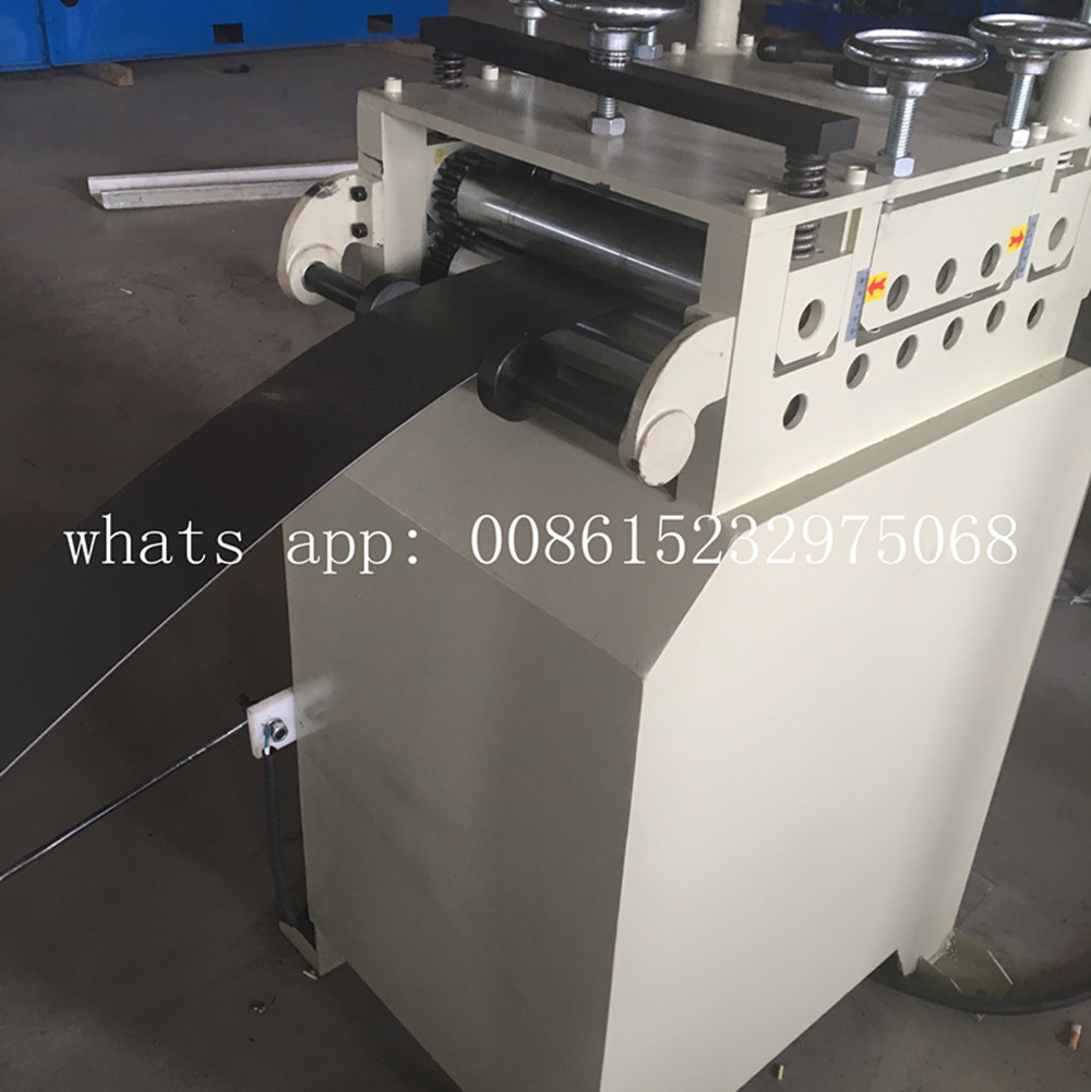 Galvanised c section slotted channel machine