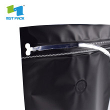 Custom Printed Ground Coffee Packing Pouch with valve