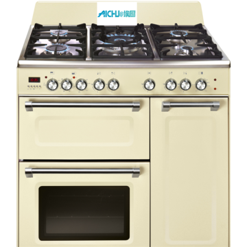 90cm Triple Cavity Dual Fuel Range Cooker