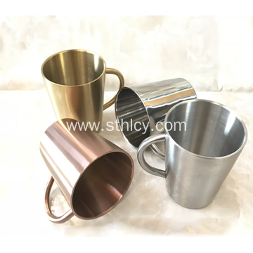 304 Double-layer High Quality Stainless Steel Cup