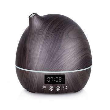 Wood Clock Design Air Humidifier Wokhala Ndi Alarm Clock