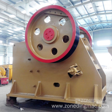 High Crushing Reasonable Ratio Jaw Crusher Price