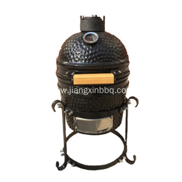 12 Inch Kamado Grill With Iron Base