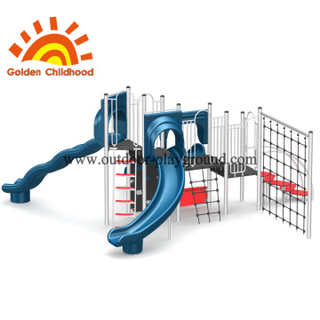 Commercial Climbing Blue Slide For Sale