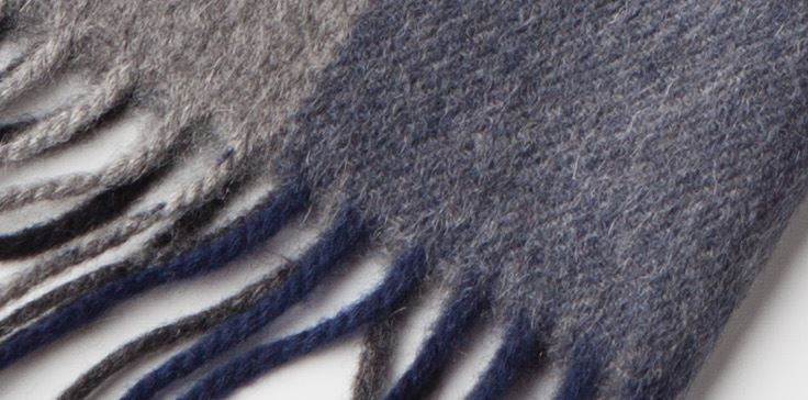 90% Wool 10% Cashmere Scarf -8