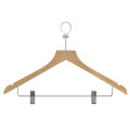 Natural Wooden Clothes Coat Hanger for Hotel
