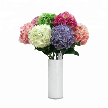 Giant artificial flower hydrangea ball for home decoration