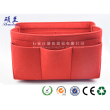 High Quality for Felt Cosmetic Case 2018 new design customized color felt cosmetic bag supply to United States Wholesale