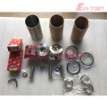 excavator 3TNE82 engine gasket bearing piston ring liner