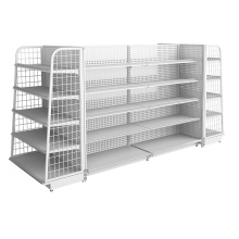 Leading for Steel Supermarket Rack Wholesale Convenience Store Display Rack supply to Iran (Islamic Republic of) Wholesale