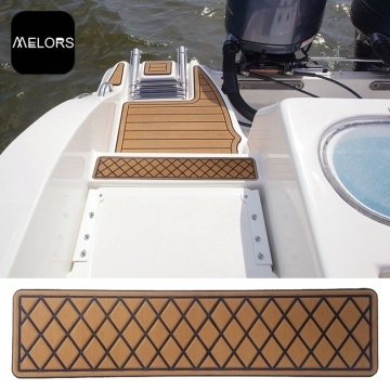 EVA Synthetic Teak Yacht Deck Flooring Vehicle Decking